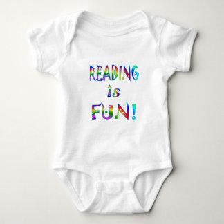 Reading is Fun Baby Bodysuit