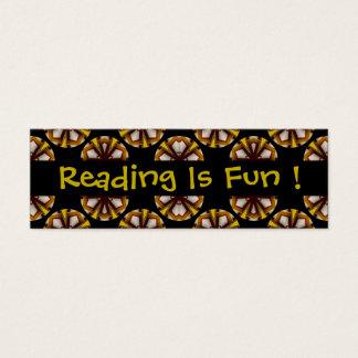 Reading Is Fun Bookmarks Mini Business Card