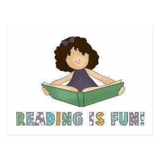 Reading Is Fun! Postcard