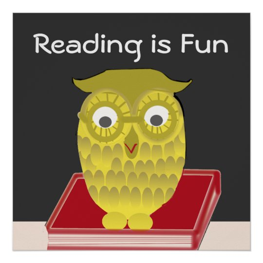 Reading is Fun Poster