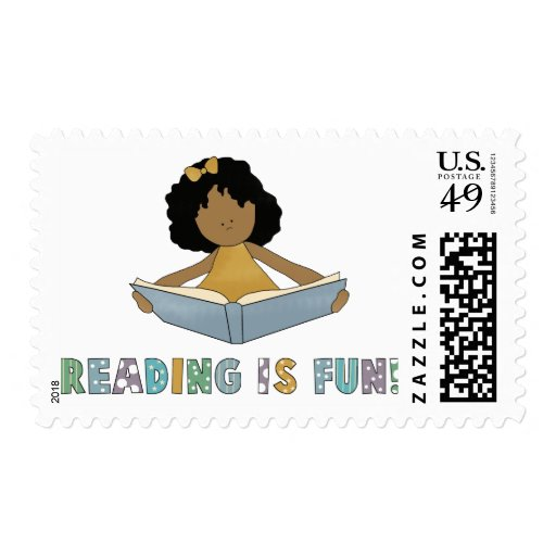 Reading Is Fun! Stamp