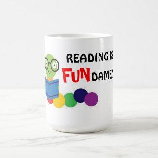 Reading is fundamental  - mug