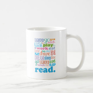 Reading Is Life Coffee Mug