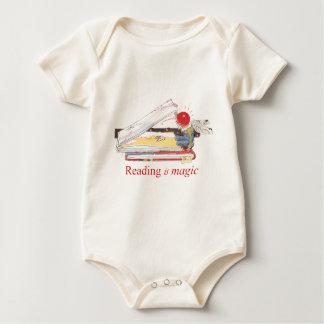 Reading is Magic Baby Bodysuit