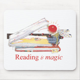 Reading is Magic Mouse Pad