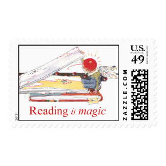 Reading is Magic Postage