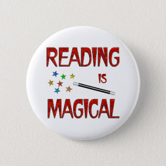 Reading is Magical Button
