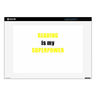 Reading is my Superpower Decals For Laptops