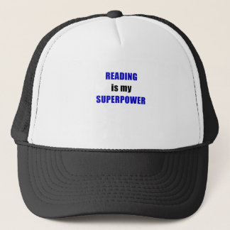 Reading is my Superpower Trucker Hat