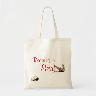 Reading is Sexy - Book Tote