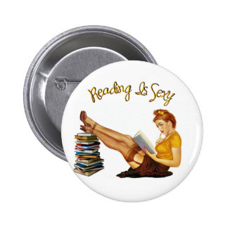 Reading is Sexy button