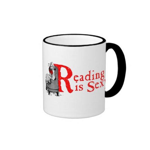 Reading is Sexy Coffee Mug