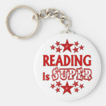 Reading is Super Key Chains