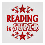 Reading is Super Posters