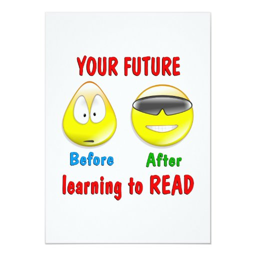 Reading is your Future Card