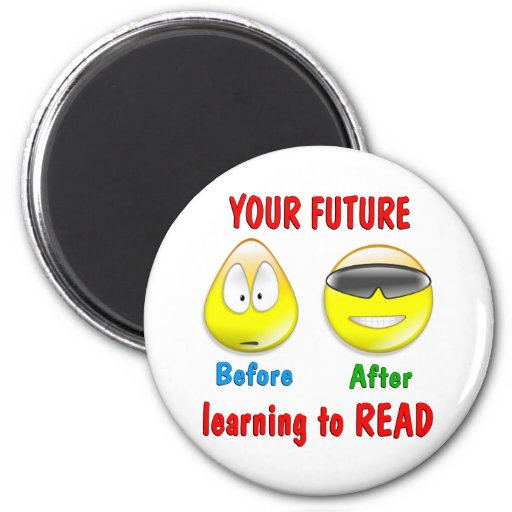 Reading is your Future Fridge Magnets