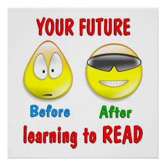 Reading is your Future Poster