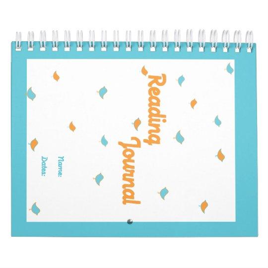 Reading Journal Calendar