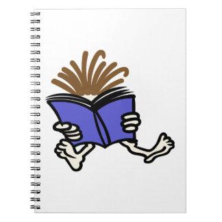 Reading Kid Spiral Note Books