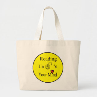 Reading Large Tote Bag
