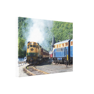 Reading Lines ALCO C-630 #5308 Gallery Wrapped Canvas