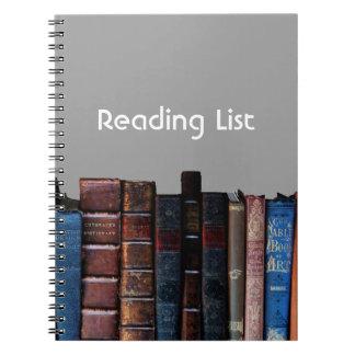 Reading List Journal