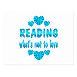 READING LOVE POSTCARD