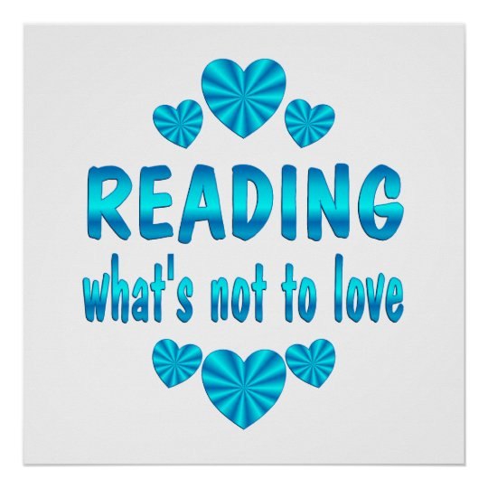 READING LOVE POSTER