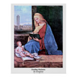 Reading Madonna By Giorgione Poster
