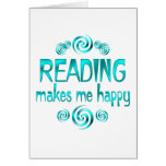 Reading Makes Me Happy Cards