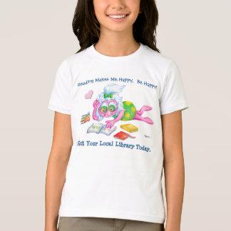 Reading Makes Me Happy! T-Shirt