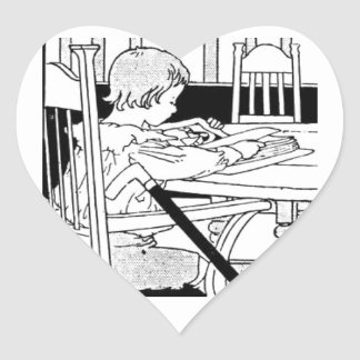 Reading Means You Are Never Handicapped Heart Sticker