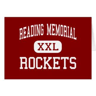 Reading Memorial - Rockets - High - Reading Greeting Card