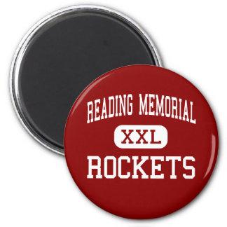 Reading Memorial - Rockets - High - Reading Refrigerator Magnets
