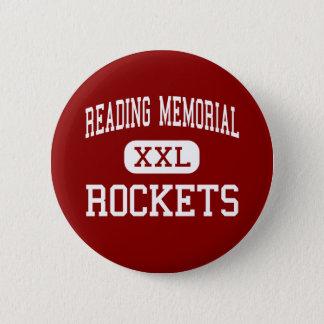 Reading Memorial - Rockets - High - Reading Pinback Button