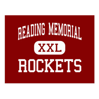 Reading Memorial - Rockets - High - Reading Postcard