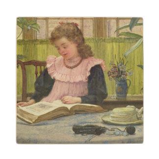 Reading Maple Wood Coaster