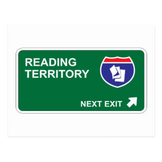 Reading Next Exit Postcard