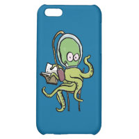 reading octopus iPhone 5C cover