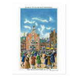 Reading of the Declaration of Independence Postcard