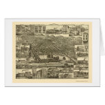 Reading, PA Panoramic Map - 1881 Cards