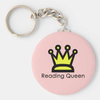Reading Queen Keychain