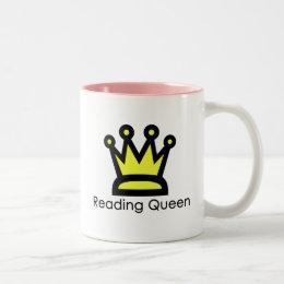 Reading Queen Mug