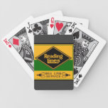 Reading Railroad,Bee Line Service Bicycle Playing Cards