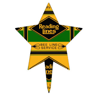 Reading Railroad,Bee Line Service Cake Pick