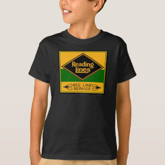 Reading Railroad Bee Line Service Kids T-Shirts