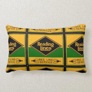 Reading Railroad, Bee Line Service Lumbar Pillow