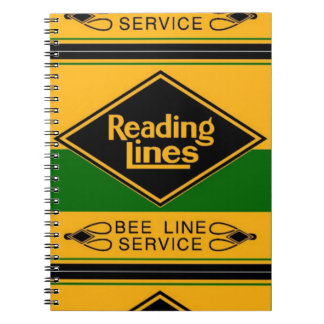 Reading Railroad,Bee Line Service Notebooks