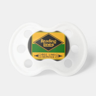 Reading Railroad,Bee Line Service Pacifier