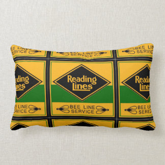 Reading Railroad,Bee Line Service Throw Pillow